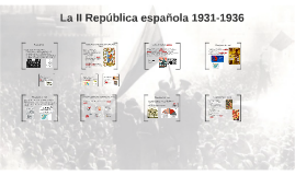 La II República española 1931-1936
