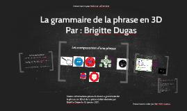 Copy of La grammaire de la phrase en 3D