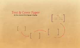 Text & Cover Paper