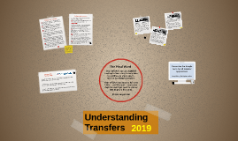 Understanding Transfers