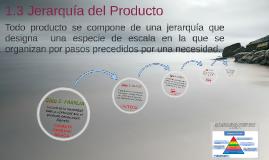 Copy of 1.3 Jerarquía del Producto