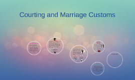 Courting and Marriage Customs
