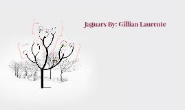 Jaguars By: Gillian Laurente
