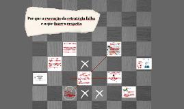 Por que a execução da estratégia falha