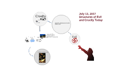 July 13, 2017 - Structures of Evil and Cruelty