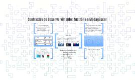 Contrastes de desenvolvimento: Austrália e Madagáscar
