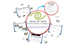The Need for Leave No Trace