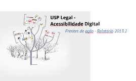 USP Legal - Acessibilidade Digital 2013.2