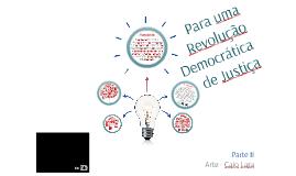 Boaventura - Para uma revolução - Parte II