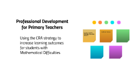 Professional Development for Primary Teachers