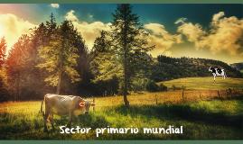 Sector primario mundial