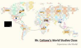 Mr. Cottone's World Studies 6