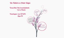 Copy of Din Kültürü ve Ahlak Bİlgisi