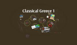 ch1a - Classical Greece 1