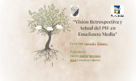 """""""Visión Retrospectiva y Actual del PIE en Enseñanza Media"""""""