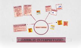 PAGBIBIGAY-INTERPRETASYON