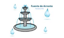 Fuente de Arronte
