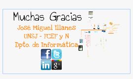 Redes Sociales - José Miguel Illanes  Reg. 15496
