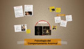 Psicología del Comportamiento Anormal- Trastorno de Depresió