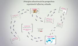 Principios educativos de las perspectivas experiencial refle