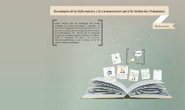 Tecnologías de la información y la comunicación para la
