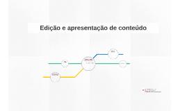 Jornalismo Digital II: Edição e apresentação de conteúdo