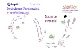 Decisiones Personales y Profesionales
