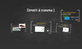 Elementi di economia 2