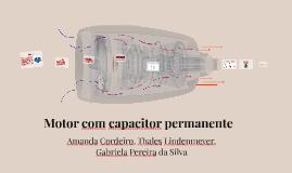 Motor com capacitor permanente