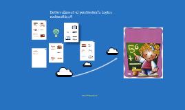 Orientación para la Educadora de Párvulos: Desarrollo del Pensamiento lógico matemático en menores de 6 años.