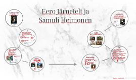 Eero Järnefelt ja Samuli Heimonen