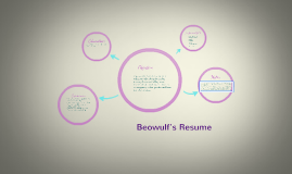 beowulf s resume by tina joseph on prezi