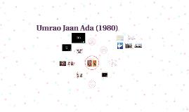 Umrao Jaan Ada (1980)