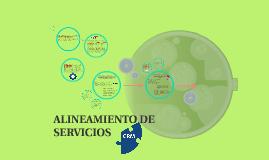 ALINEAMIENTO DE SERVICIOS