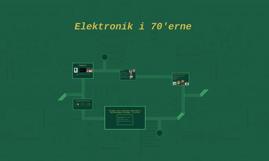 Copy of Elektronik i 70'erne