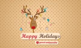 Copy of Christmas Prezi - Prezi University