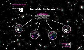 Estructura de Materiales Cerámicos ~ ITSAT