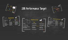 2015 Performance Target