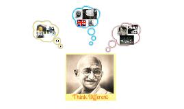 Think Different Person- Gandhi