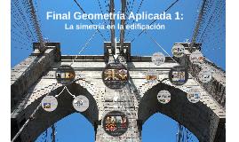 Final Geometría Aplicada 1:
