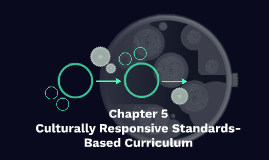 Chapter 5 - Culturally Responsive Standards-Based Curriculum