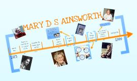 Mary D S Ainsworth