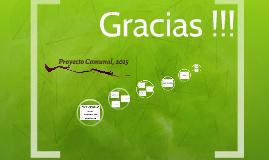 Proyecto Comunal, 2015