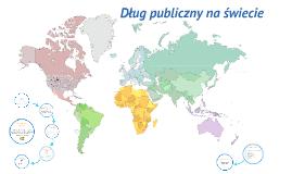 Dług publiczny na świecie