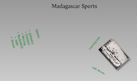 madagascar sports