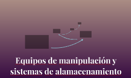 Equipos de manipulación y sistemas dealmacenamiento