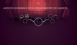 ASPECTO ECONOMICO DE EL DEPARTAMENTO DE CAQUETA