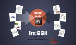 Normas ISO 22000