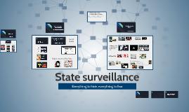 State surveillance