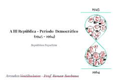 III República (1945-1964)